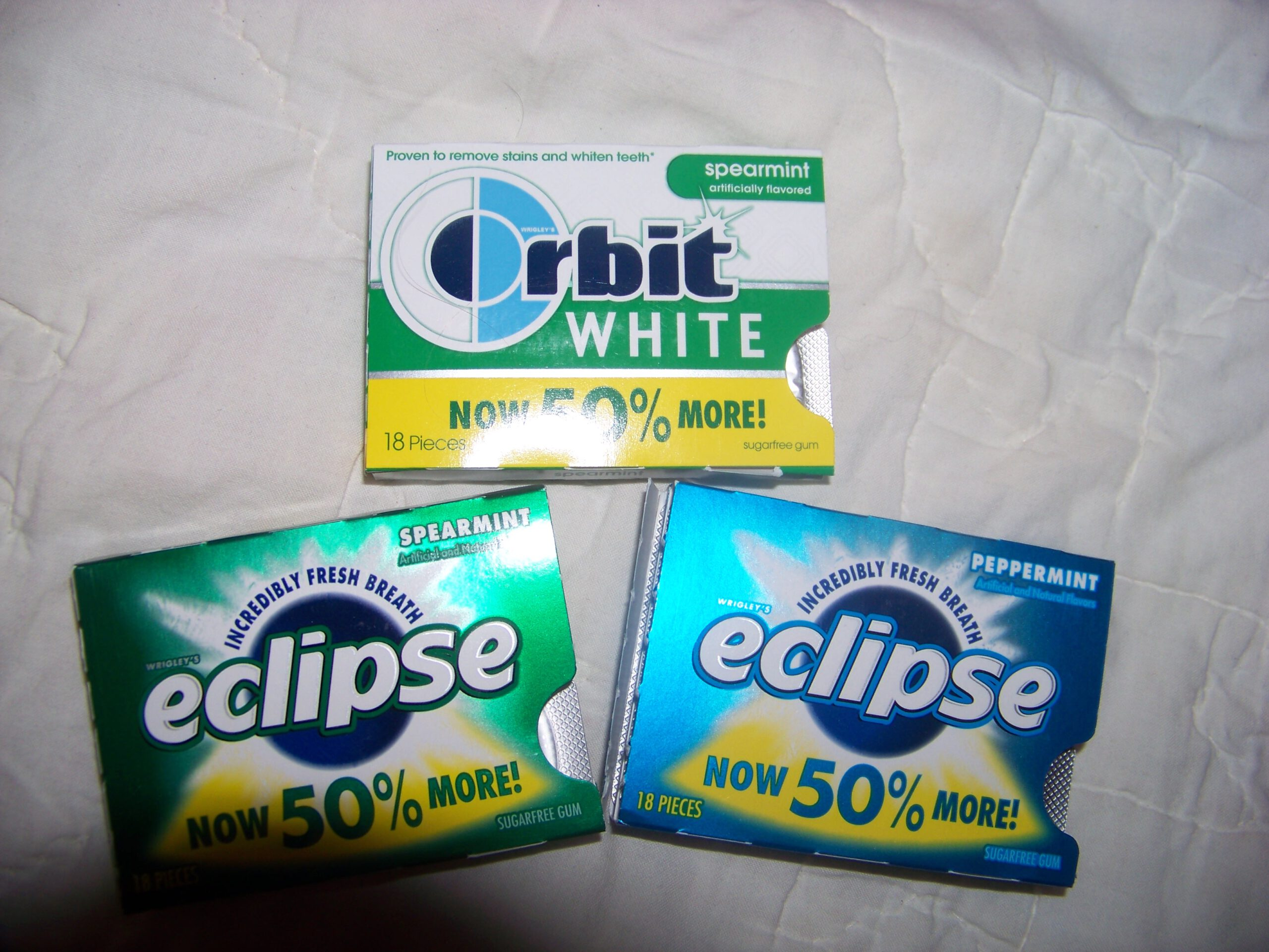 Review and Sweepstakes: Eclipse Gum – Now 50% more!
