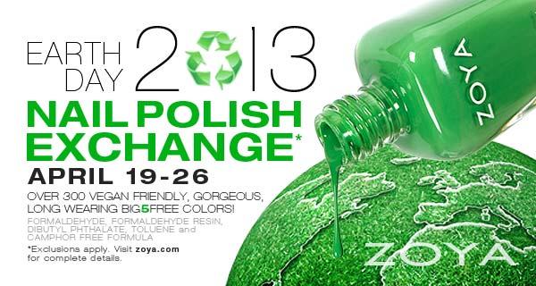 Zoya Earth Day Code