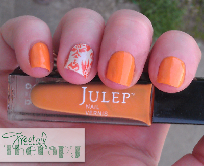 Manicure of the Week – Julep Parker and Jamberry nails