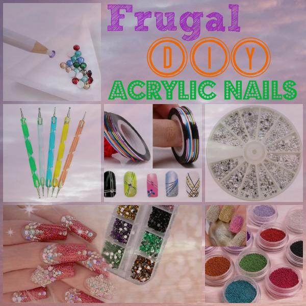 Diy acrylic nails on the cheap frugal diy acrylic nails solutioingenieria Choice Image