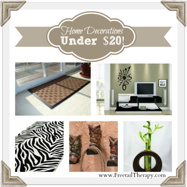 Home Decorations Under 20