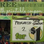 FREE Progresso Recipe Starters!