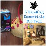 5 handbag essentials for Fall