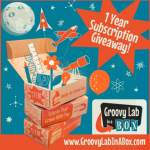 Enter to win a one-year subscription (valued at more than $287) from Groovy Lab in a Box!