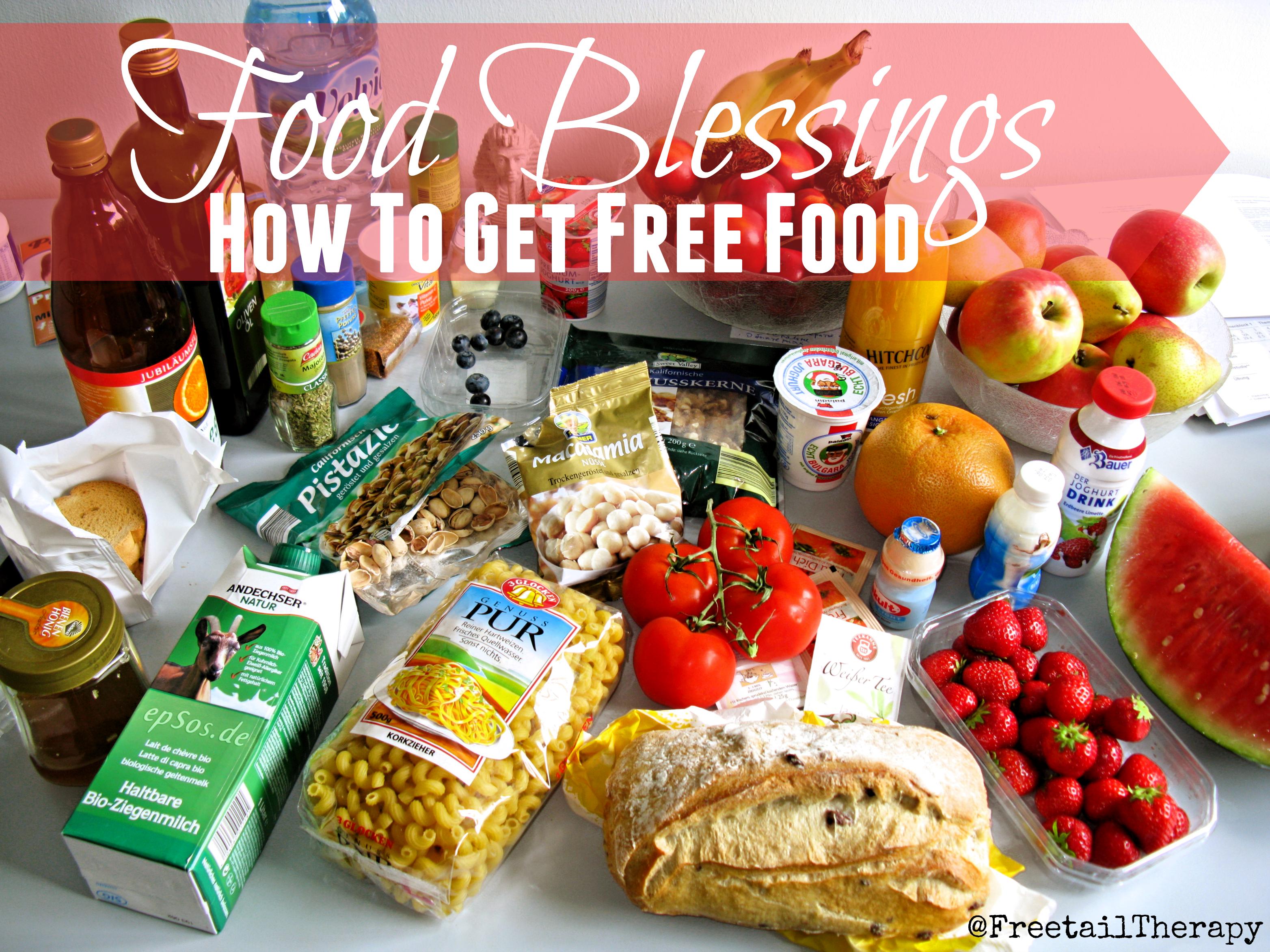 Food Blessings