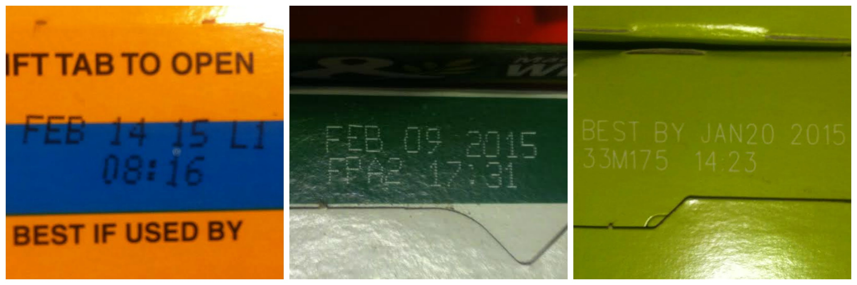 sell by dates