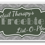 Freebie Roundup for the week of 3/8 – 3/14