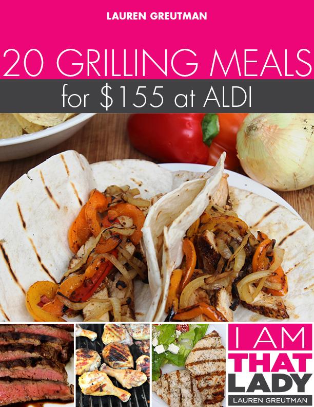 Aldi Grilling Plan Cover