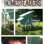 We say that we are lazy homesteaders