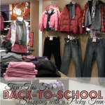 Top Tips for Back-to-School Shopping with a Picky Teen