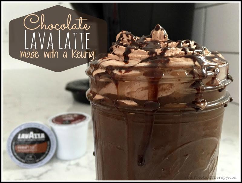 Chocolate Lava Latte