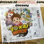 Nintendo DS Yo-Kai Watch Game Giveaway