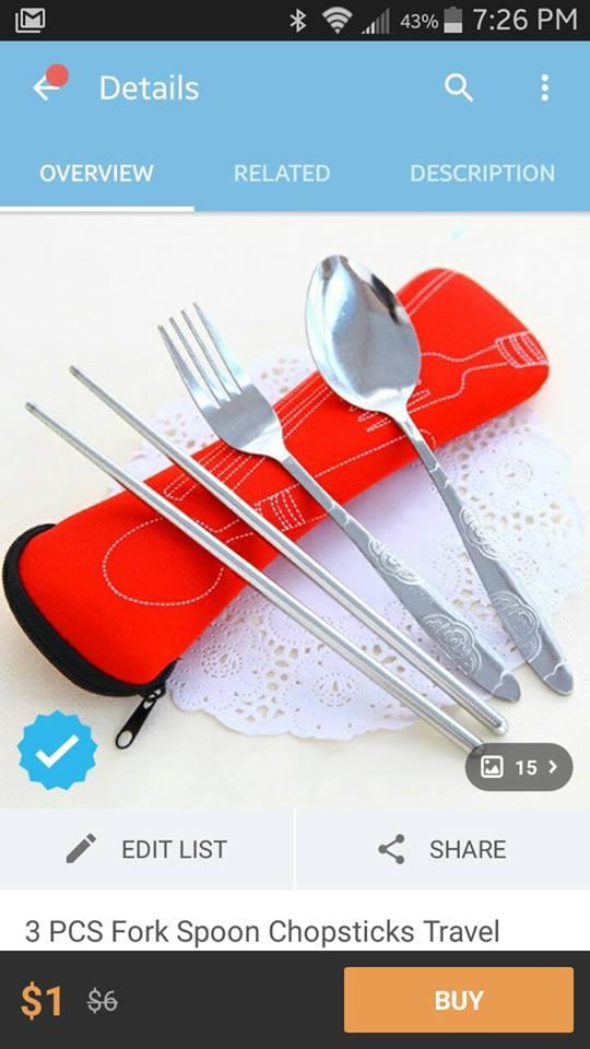 Zero Waste Cutlery Set